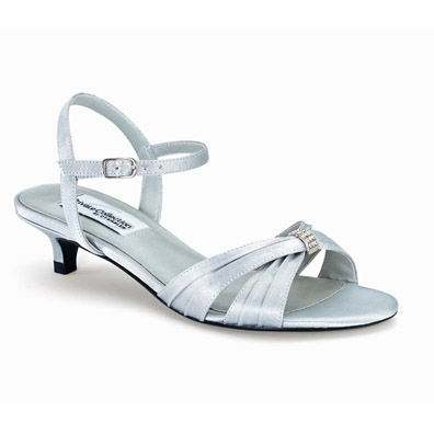Heel Silver Wedding Shoes